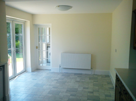 Internal Breakfast room and utility extension Cobham, Surrey