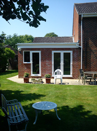 External Breakfast room and utility extension Cobham, Surrey