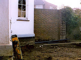 East Molesey, Surrey A Rear Utility Room and New Landscaping