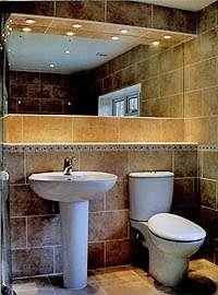 New bathroom and shower Cobham