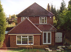 Large Rear Extension Leatherhead, Surrey