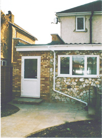 After Side Extension Walton, Surrey