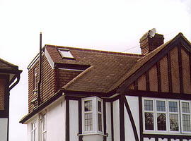 Before Loft Conversion Weybridge, Surrey